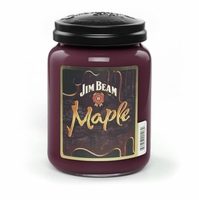 Jim Beam Maple 26 oz. Large Jar Candleberry Candle