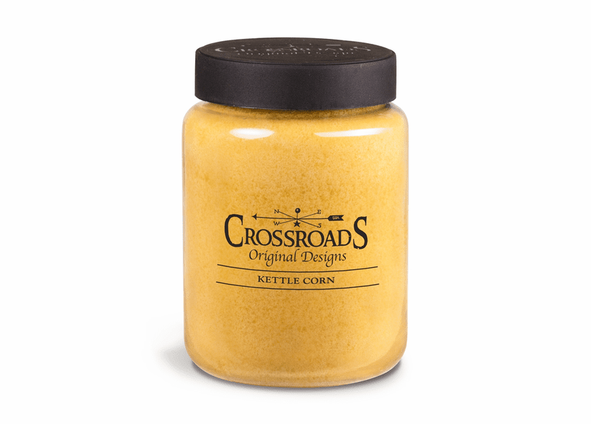 Kettle Corn 26 oz. Crossroads Candle