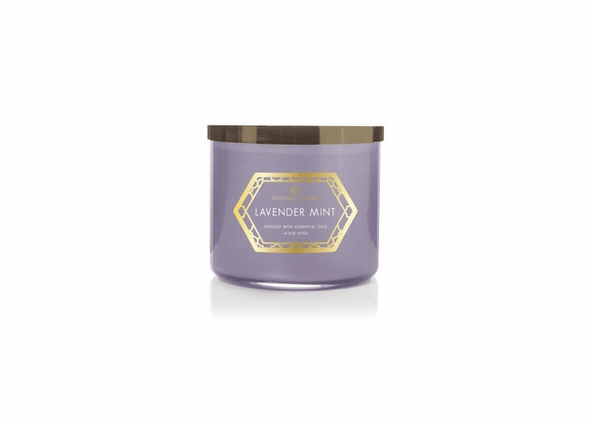 Lavender Mint 14.5 oz. Luxe Trend Collection Colonial Candle