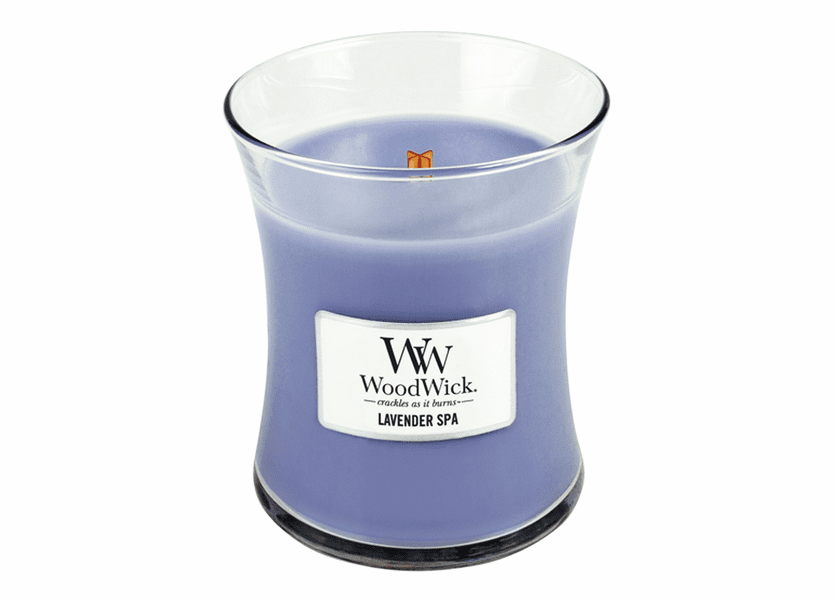 Lavender Spa WoodWick Candle 10 oz.