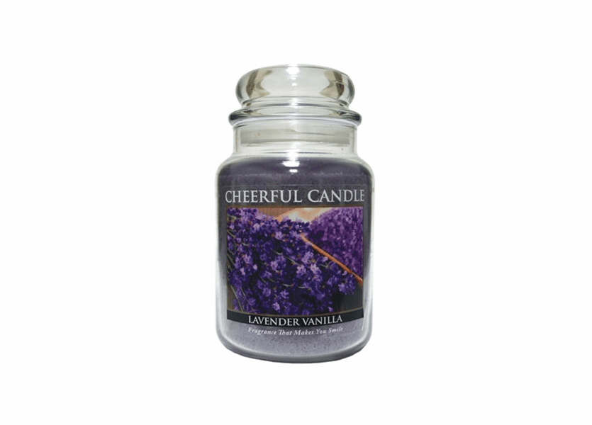 Lavender Vanilla 24 oz. Cheerful Candle by A Cheerful Giver