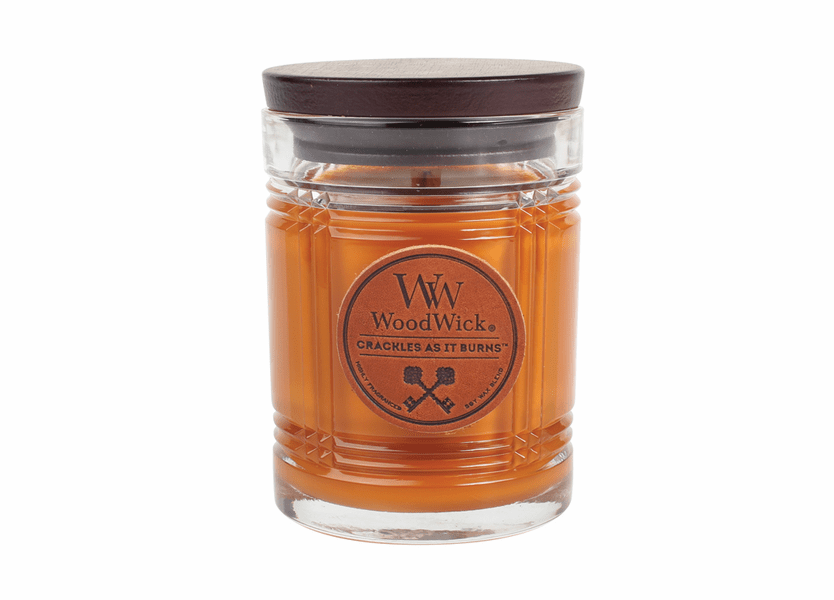 Leather WoodWick Reserve Collection 8.5 oz.  Candle