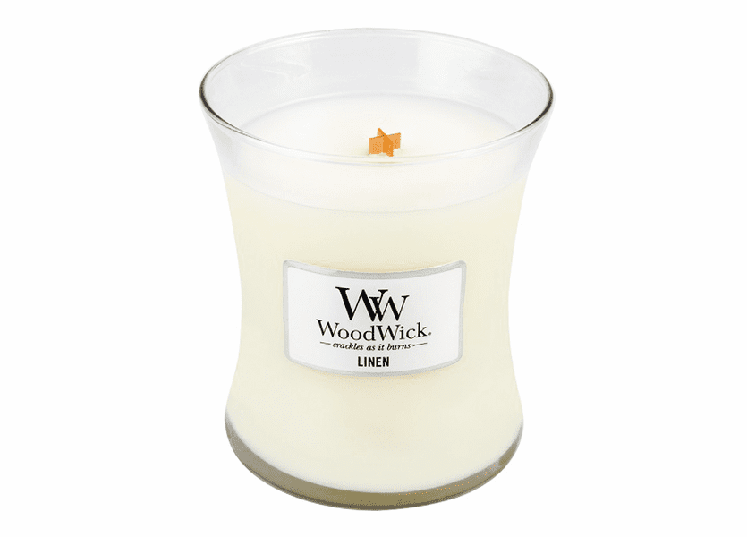 Linen WoodWick Candle 10 oz.