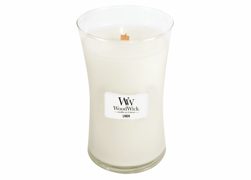 Linen WoodWick Candle 22 oz.