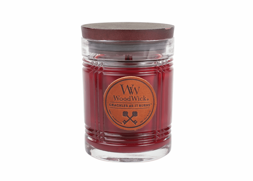 Mahogany WoodWick Reserve Collection 8.5 oz.  Candle