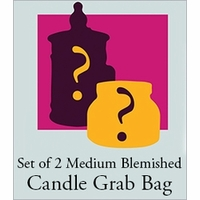 Medium Blemished Candle Grab Bag - 2-Pack