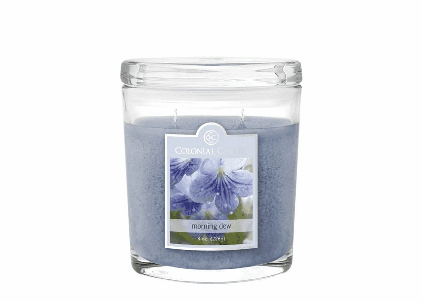 Morning Dew 8 oz. Oval Jar Colonial Candle