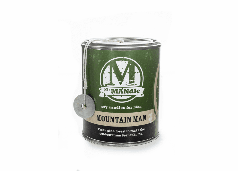 Mountain Man 15 oz. Paint Can MANdle by Eco Candle Co.