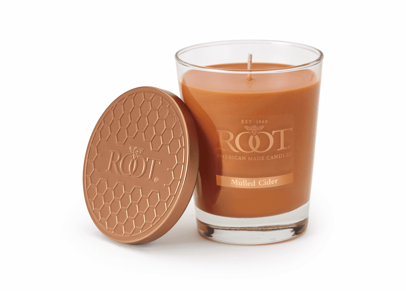 Mulled Cider Large Honeycomb Veriglass Candle by Root