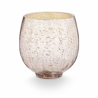 CLOSEOUT - Mulled Wine Small Crackle Glass Illume Candle