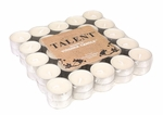 CLOSEOUT-50 Pack Unscented Tea Lights by Virginia Gift Brands | Discontinued & Seasonal WoodWick Items!