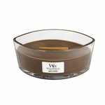 Amber & Incense WoodWick Candle 16 oz. Hearthwick Flame | HearthWick Ellipse Glass Candles