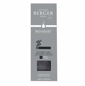 NEW! - Anti-Tobacco Odour No. 1 - Woody Reed Diffuser - Maison Berger by Lampe Berger