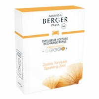 NEW! - Aroma Energy Car Diffuser Ceramic Refill - Maison Berger by Lampe Berger
