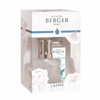 NEW! - Aroma Happy Gift Set with Lamp and 180 ml (6.08 oz.) Happy Fragrance Oil - Lampe Berger by Maison Berger