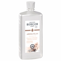 NEW! - Aroma Relax: Oriental Comfort 1 Liter (33.8 oz.) Fragrance Lamp Oil - Lampe Berger by Maison Berger