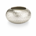 NEW! - Balsam & Cedar Demi Textured Metal Illume Candle | Holiday Collection by Illume Candles