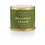 NEW! - Balsam & Cedar Demi Tin Illume Candle | Holiday Collection by Illume Candles