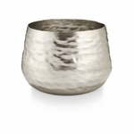 NEW! - Balsam & Cedar Large Textured Metal Illume Candle | Holiday Collection by Illume Candles