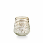NEW! - Balsam & Cedar Small Etched Mercury Glass Illume Candle | Holiday Collection by Illume Candles
