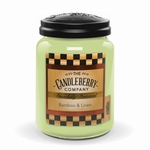 NEW! - Bamboo & Linen 26 oz Large Jar Candleberry Candle | New Releases by Candleberry