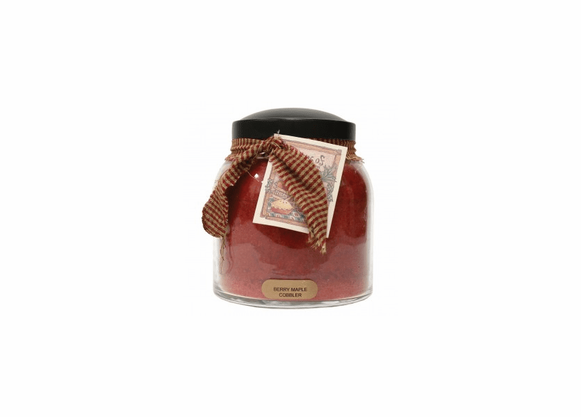 NEW! - Berry Maple Cobbler 34 oz. Papa Jar Keepers of the Light Candle by A Cheerful Giver