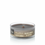 Black Amber & Citrus Petite WoodWick Candle | WoodWick Petite Candles