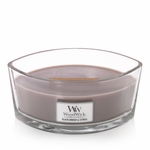 NEW! - Black Amber & Citrus WoodWick Candle 16 oz. HearthWick Flame | HearthWick Ellipse Glass Candles