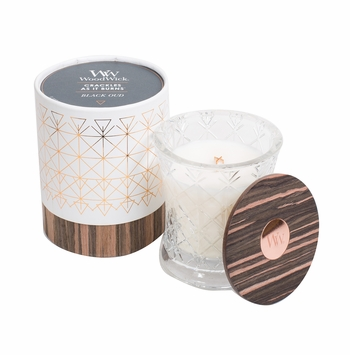 Black Oud Aura WoodWick Candle