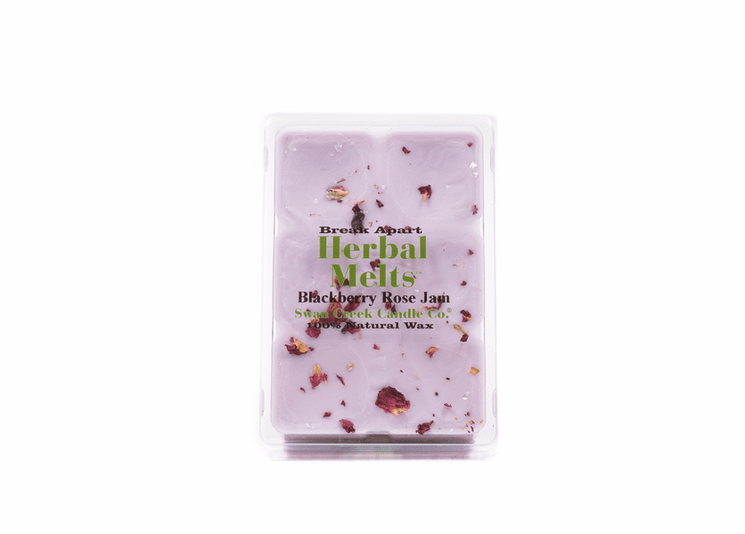 NEW! - Blackberry Rose Jam 5.25 oz. Swan Creek Candle Drizzle Melts