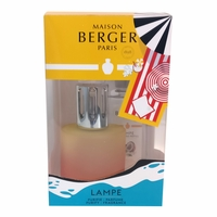 NEW! - Blissful Lamp Gift Set with Lamp and 180 ml (6.08 oz.) Tropical Mango Fragrance Oil - Lampe Berger by Maison Berger
