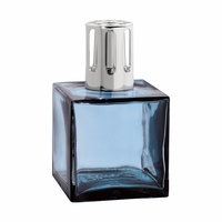 NEW! - Blue Cube Fragrance Lamp - Lampe Berger by Maison Berger