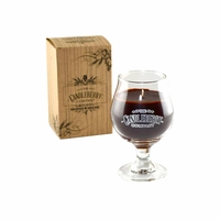 NEW! - Bourbon Beer Glass Candleberry Candle