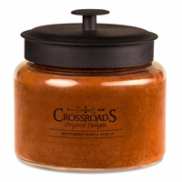 Temporarily out of Stock -  Buttered Maple Syrup 64 oz. Crossroads Candle