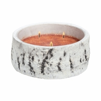 NEW! - Buttered Maple Syrup Woodland Birch Bowl Crossroads Candle