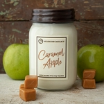 CLOSEOUT - Caramel Apple 13 oz. Ltd. Edition Mason Jar Candle by Milkhouse Candle Creamery | Milkhouse Candle Creamery Closeouts