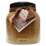 CLOSEOUT - Caramel Apple with Nuts 34 oz. Papa Jar Keepers of the Light Candle by A Cheerful Giver | Closeouts by A Cheerful Giver