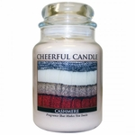 Cashmere 24 oz. Cheerful Candle by A Cheerful Giver | Cheerful Candle 24 oz. Jars by A Cheerful Giver