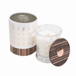 NEW! - Charcoal & Amber Aura WoodWick Candle | NEW! - WoodWick Aura Collection