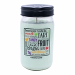 NEW! - Coconut Lime 24 oz. Swan Creek Kitchen Pantry Jar Candle | NEW! - New Releases by Swan Creek Candle