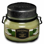 CLOSEOUT - NEW! - Coconut Lime Verbena 8 oz. McCall's Double Wick Classic Jar Candle | McCall's Candles Closeouts