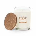 NEW! - Coconut Palm Hive Glass Candle by Root | New Releases By Root