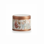 NEW! - Copper Leaves Metallic Tin Illume Candle | Holiday Collection by Illume Candles