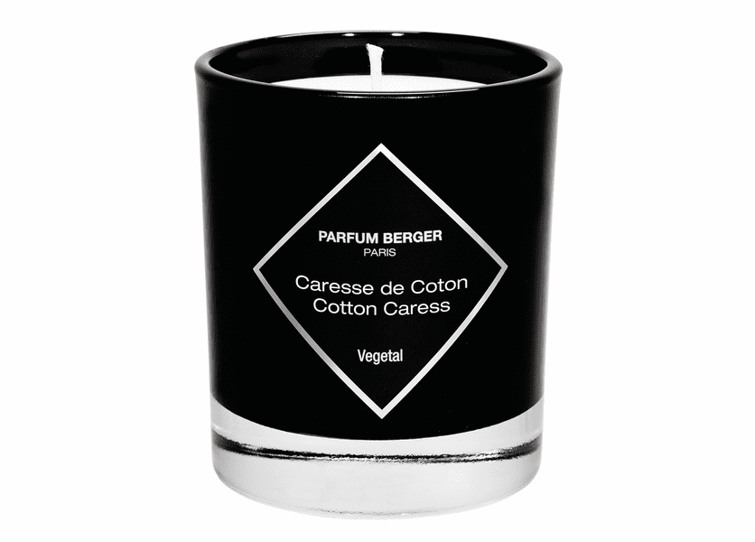 NEW! - Cotton Caress Graphic Candle - Maison Berger by Lampe Berger