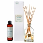 CLOSEOUT-Cotton Ginseng 4 oz. Reed Diffuser Set by Aromatique | Aromatique Fragrance Closeouts