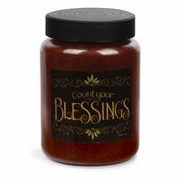 NEW! - Count Your Blessings Artwork Cinnamon Sticks 26 oz. Crossroads Candle