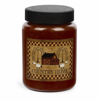 NEW! - Country Home Artwork Farmhouse 26 oz. Crossroads Candle