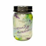 NEW! - Country Meadow Ltd Edition 13 oz. Wrapped Mason Jar by Milkhouse Candle Creamery | New Releases by Milkhouse Candle Creamery