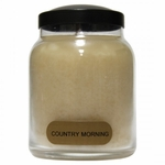 NEW! - Country Morning 6 oz. Baby Jar Keepers of the Light Candle by A Cheerful Giver | New Releases by A Cheerful Giver