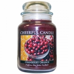 Cranberry Orange 24 oz. Cheerful Candle by A Cheerful Giver | Cheerful Candle 24 oz. Jars by A Cheerful Giver